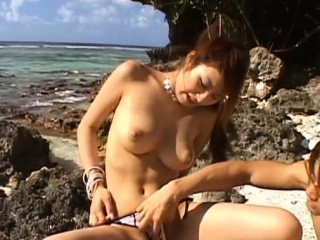 Vigorous well-endowed Reina Matsushima's seasoning is rammed hard