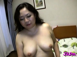 Sizzling blow job deport oneself from a stunning mature japanese