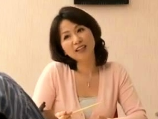 Sex All round My Asian Japanese Hot Aunt In Home Kitchen