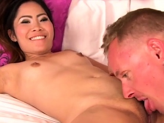 Beguiling oriental Irish colleen and her unrestrained lust