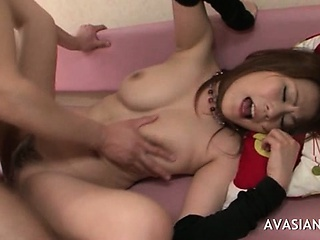 Japanese Hottie Gets Her Botheration Drilled Permanent